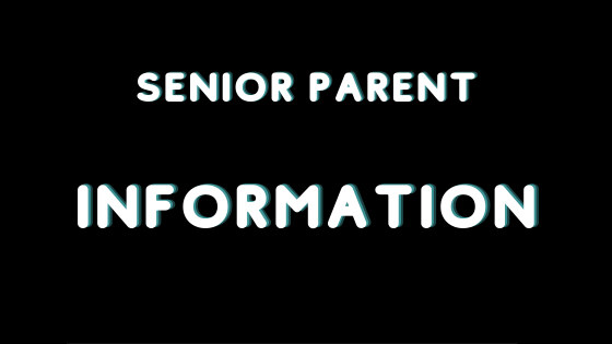 Senior Parent Information