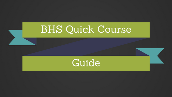 Quick Course Guide
