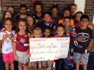 "Northwest Elementary Completes ""Links for Long"" Fundraiser Benefiting School Damaged by Hurricane Harvey"