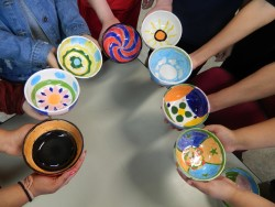 BMS Art Students Contribute to Empty Bowls Event