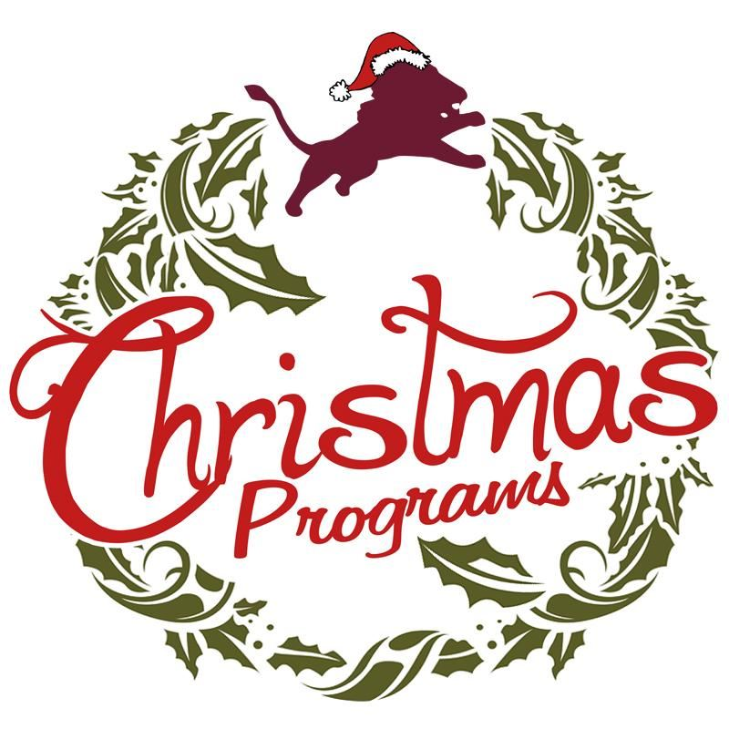 Christmas Programs Graphic