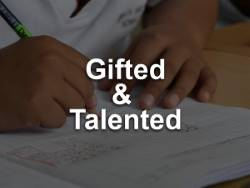 Gifted & Talented Graphic