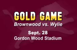 September 28 Matchup Against Wylie Bulldogs Designated as  Gold Game for Child Cancer Awareness