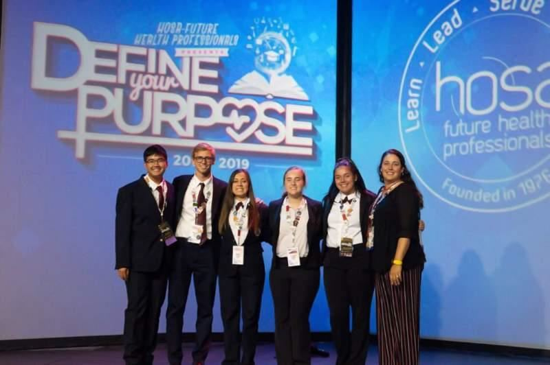 BHS HOSA National Competitors