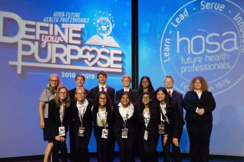 BMS HOSA National Competitors