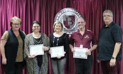 Four Brownwood ISD Music Teachers Awarded TMEA Grants