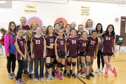 Queen Spikers Win Coggin Intermediate 6th Grade Volleyball Championship