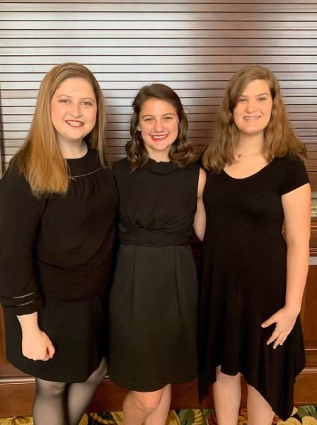Three BHS Theatre students received perfect scores in their national qualifying events at the State Thespian Competition