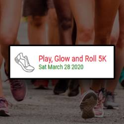 Play Glow and Roll Logo/Graphic