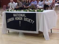 BMS Holds 2018 NJHS Induction Ceremony