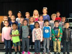 1st Grade STAR students