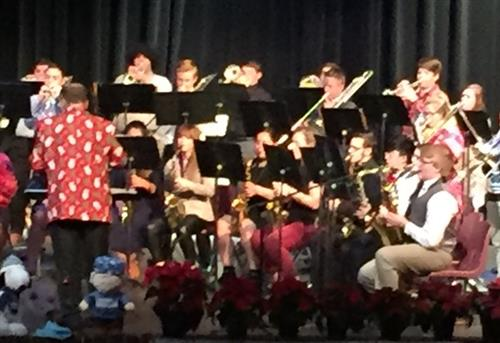 Jazz Band Christmas Concert 2017