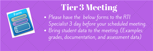 Tier 3 Meeting Graphic
